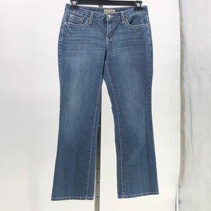 😍 Earl jean blue jeans bling back pockets 8P